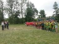 Turniej piłki nożnej w Psarach o Puchar Komisji Oświaty Rady Gminy Secemin