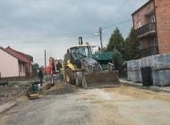 Przebudowa ulicy Kościuszki w Seceminie